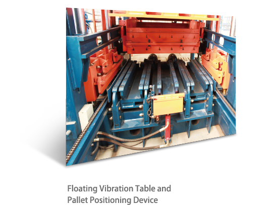 pallet positioning device