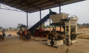 QGH 25 brick production line