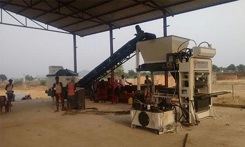 QGH 25 brick production line