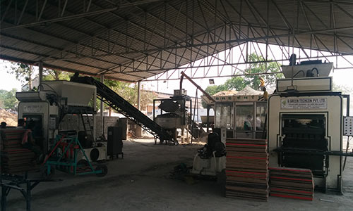 QGH25A Twin fly ash brick production line