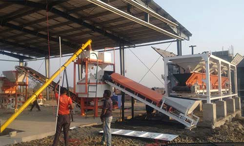 QGH 25A with baching plant