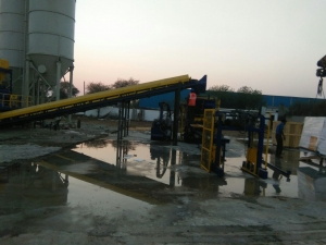 RT 6 Paver Concrete Block Machine