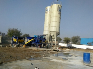 RT 6 Paver Concrete Block Machine Installed