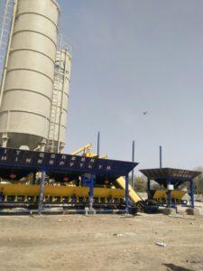 RT 6 Paver Concrete Block Machine Installed India