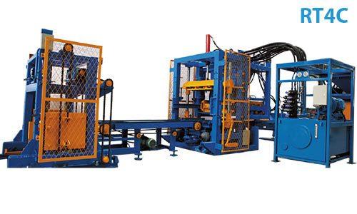 rt4c paver block machine