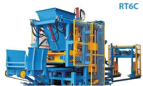 rt 6c paver block making machine