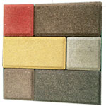 colored paver block