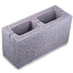 hollow pave block
