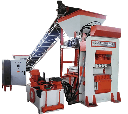 qgh 17 fly ash bricks making machine