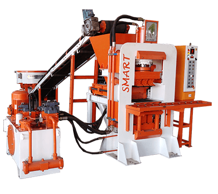 qgh smart fly ash brick machine